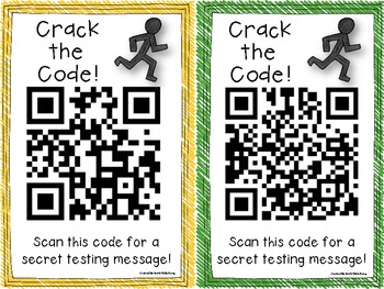 RUNNERS {QR Code Posters for Test Prep}
