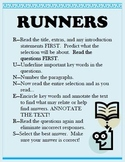 RUNNERS Reading Strategy Teaching Supplies