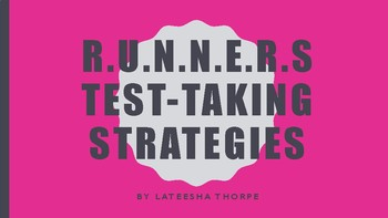 RUNNERS Test-Taking Strategies Posters