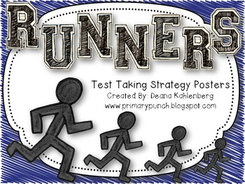 RUNNERS {Test Taking Strategy Posters}