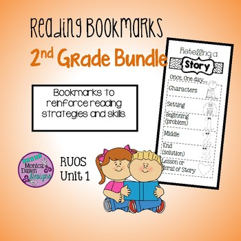 RUOS Unit 1, Second Grade, Bookmarks, Lucy
