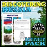 RUSSIA: Discovering Russia Activity Pack