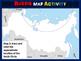 RUSSIA Map Activity - fun, engaging, follow-along 20-slide PPT