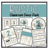 RUSTIC LACE CLASSROOM DECOR BUNDLE