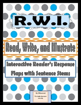 Interactive Reader's Response Flaps with Sentence Stems