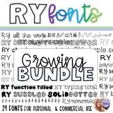RY Fonts - Growing Bundle!