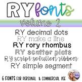 RY Fonts - Volume 2
