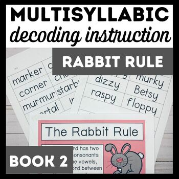 Rabbit Rule Book 2-Advanced Multisyllabic Decoding Strategies