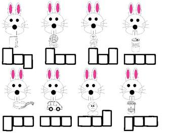 Rabbit CVC Words