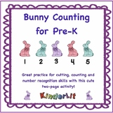 Rabbit Math - Counting Sets in PreK
