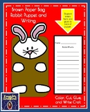 Rabbit Craft: Puppet (Farm Animal Research, Spring, Autumn, Easter)