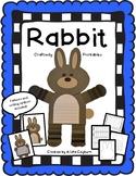 Rabbit Craftivity and Printable