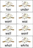 Rabbit Dolch Sight Words eBook (5 lists)