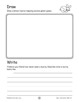 Rabbit (Draw...Then Write)