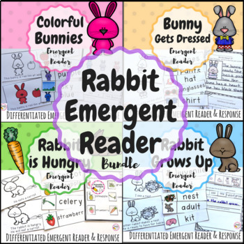 Rabbit Emergent Readers- Fictional & Informational!