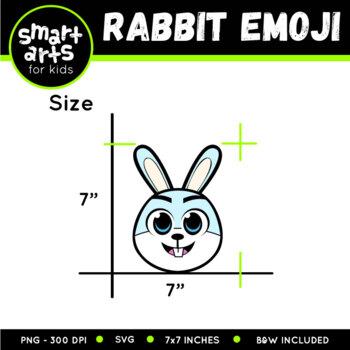 Rabbit Emoji Clip Art
