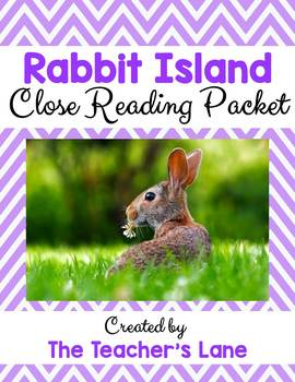 Rabbit Island Close Reading Digital Learning Pack