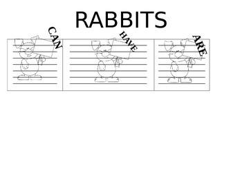 Rabbit Language Activity
