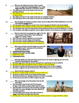 Rabbit-Proof Fence Film (2002) 15-Question Multiple Choice Quiz