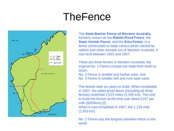 Rabbit Proof Fence Worksheets & Teaching Resources | TpT