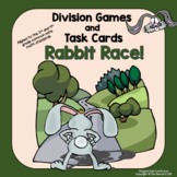 Division:  Rabbit Race Division Games and Task Cards