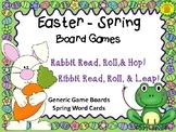 Easter Spring Board Games