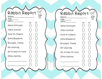 Rabbit Report