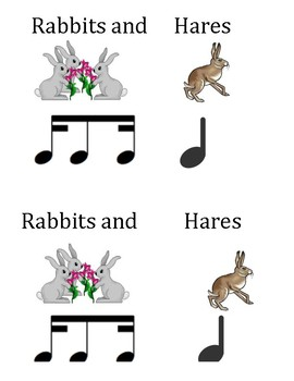 Rabbit Rhythms Deck of Cards