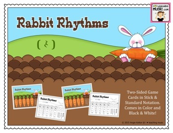 Rabbit Rhythms (Quarter Rest)