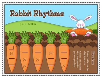 Rabbit Rhythms (Quarter Rest)