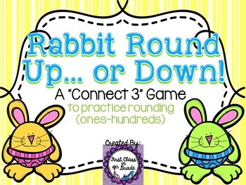 Rabbit Round Up... or Down! (Rounding Numbers Ones-Hundreds Place Value)