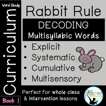 Rabbit Rule Book 1-Advanced Decoding Strategies