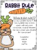Rabbit Rule-Spelling Unit