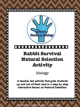Rabbit Survival Natural Selection Activity