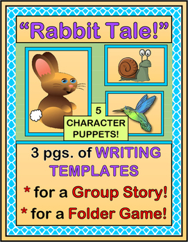 """Rabbit Tale!"" -- Story-Writing Template and Craft for Gro"