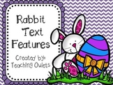 Rabbit Text Features Book