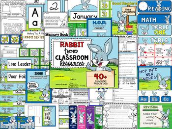 Rabbit Theme Decor Pack