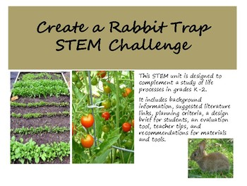 Rabbit Trap STEM Challenge