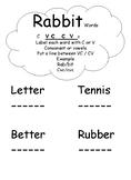 Rabbit Words VC/CV
