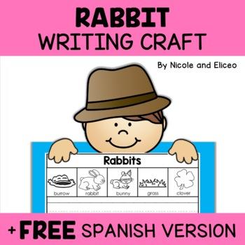 Writing Craft - Rabbit Activity