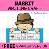 Rabbit Writing Craft Activity