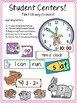 Rabbit and Bunny Crafts, Literacy and Math Centers