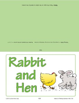 Rabbit and Hen
