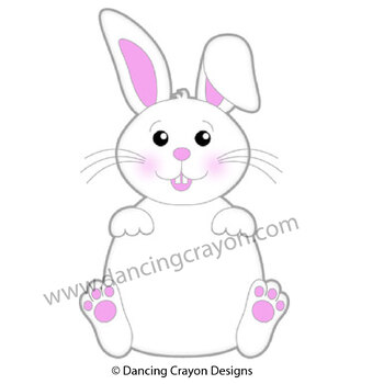 Rabbit in a Hat - Magic Rabbit Clip Art Set