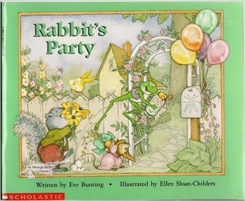 Rabbit's Party Reading Guide (Common Core Aligned)