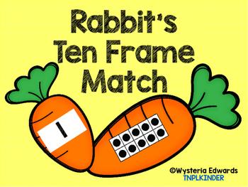 Rabbit's Ten Frame Match