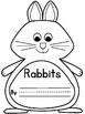 Rabbits Interactive Book and Writing Craft K-3