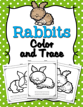 Rabbits Color and Trace