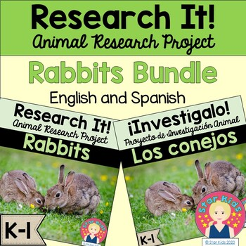 Rabbits English and Spanish for K-1