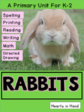 Rabbits For Primary K-2